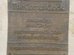 Corpus Clock Sign