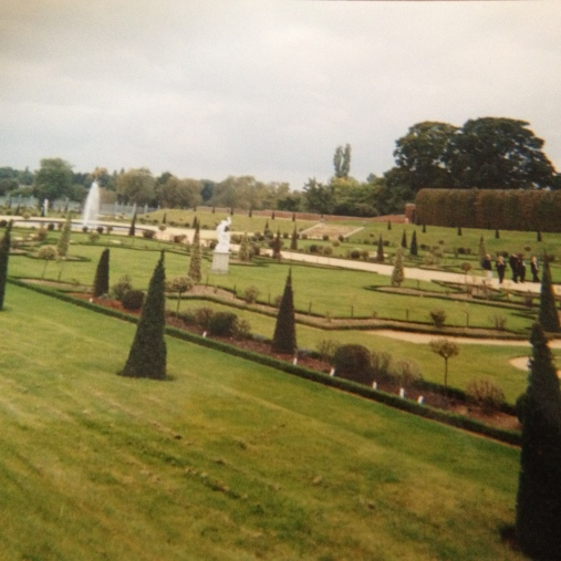 Beautifully sculptured gardens