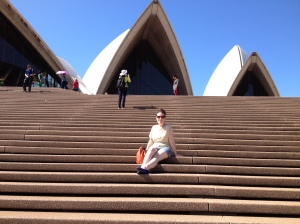 Sightseeing at the Opera House