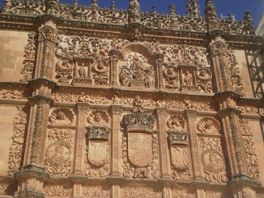 Universidad de Salamanca building facade