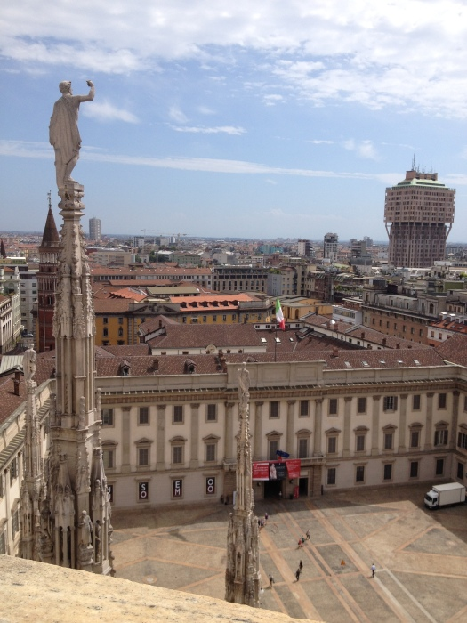 Duomo Roof View