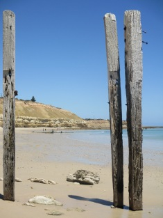 Beach and Old Jetty