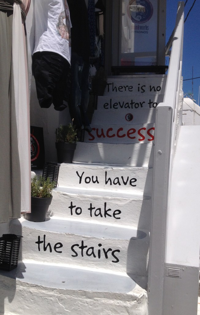 Mykonos Stairs