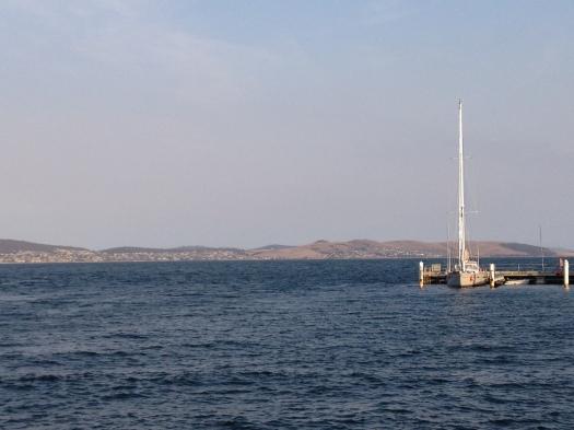 View for Calamari Dinner