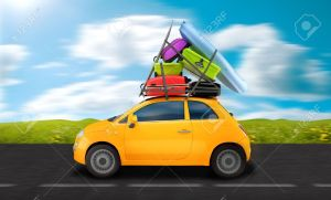 8888245-car-weigh-down-to-baggages-travel-on-the-road-stock-photo-holiday