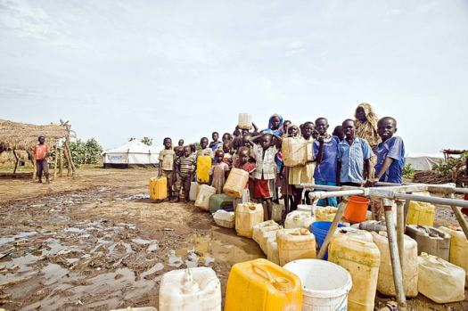 Grim Reality Water Rationing